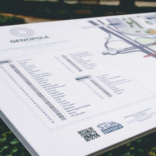 Campus map - Genopole - Evry
