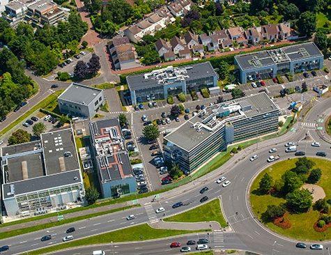 Campus 3- Aerial view