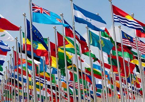 flags of the world - international development
