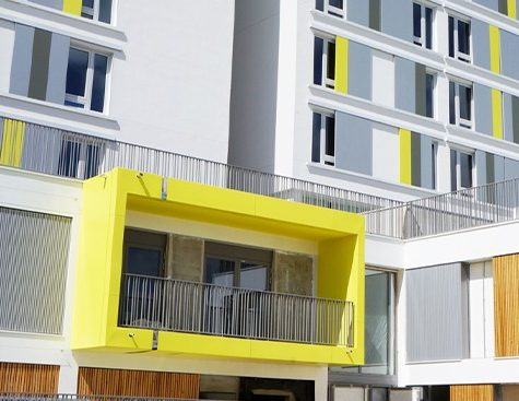 Housing for students and researchers Arpej Evry Genopole
