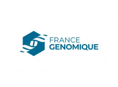 France Génomique Logo - partenaire Genopole