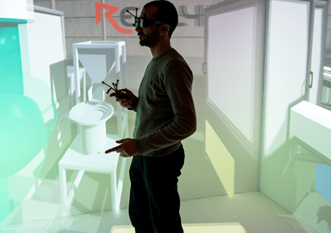 Platform Evr@ - Augmented reality and virtual reality - ©Lionel Antony
